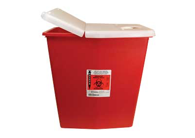 12 Gallon Red Sharps Container