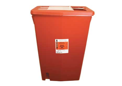 18 Gallon Red Sharps Container