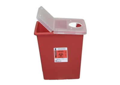8 Gallon Red Sharps Container