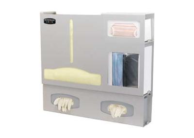 Opaque Double Glove Box Protection Organizer