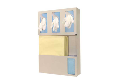 Triple Glove Box Protection Organizer
