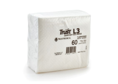 Trust™ L3 Quarterfold Wipes