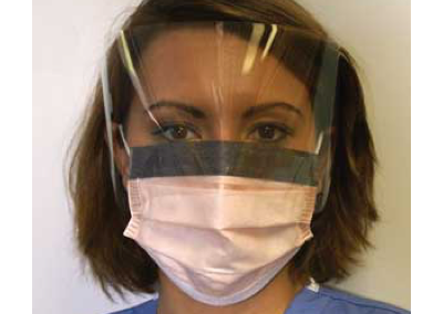 Fluidshield Procedure Face Mask with Visor